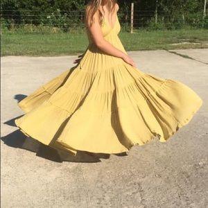 Free People cosmico maxi dress